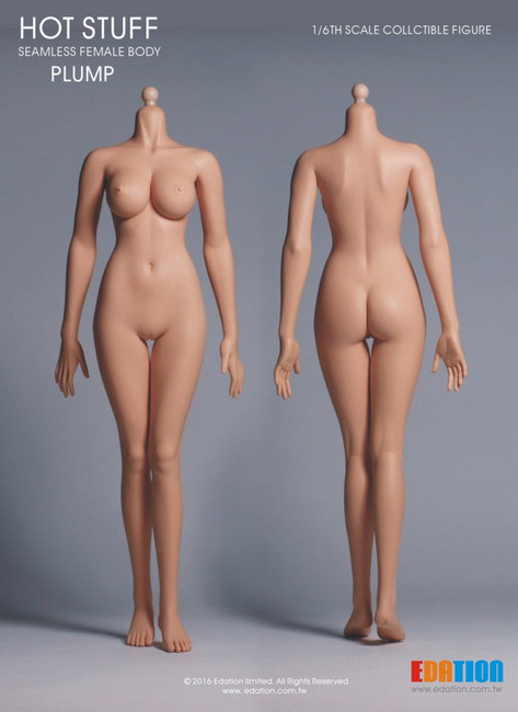 [EDA-P04] EDATION Hot Stuff 1/6 Third-Generation Female Plump Body, Cone Joint with White Tone