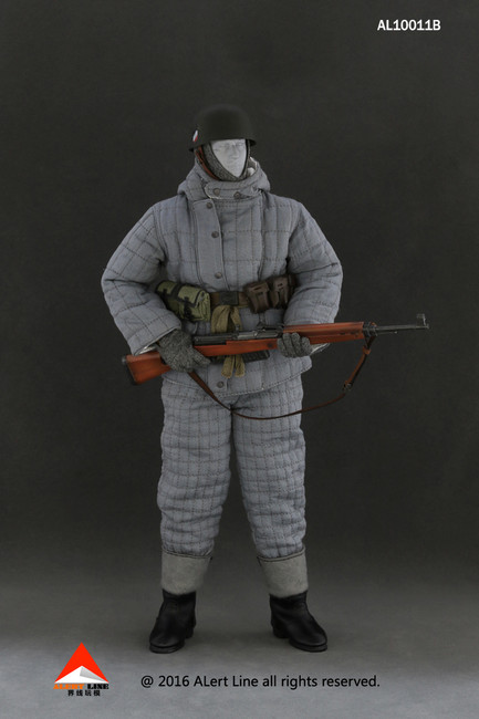 [AL-10011B] Alert Line Wehrmacht Paratrooper Double-sided Cotton-padded Jacket