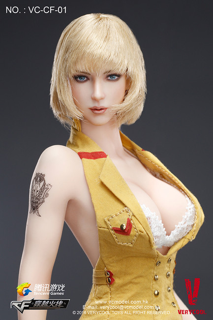"""[VC-CF-01] Very Cool CrossFire Lurker of Fox Legend 12"""" Figure by Tencent Game"""