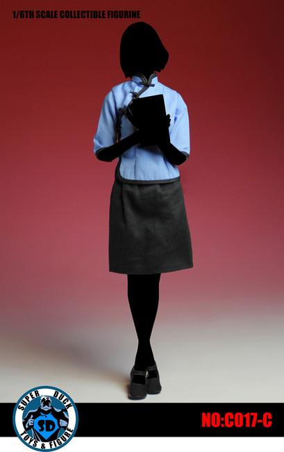 [SUD-C017CU] Super Duck Chinese Student Uniform in Blue Color