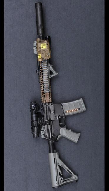 [DAM-EF001] DAM Toys SOPMOD II M4 SET Elite Firearms Series