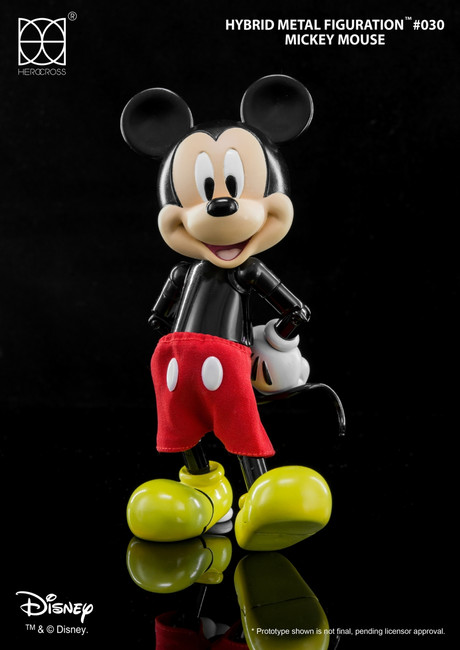 "[HMF-030] 5.5"" Tall Disney Mickey Mouse by HEROCROSS"