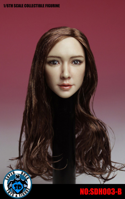 [SUD-SDH003B] Super Duck Asian Headsculpt Version 3 with Blonde Hair