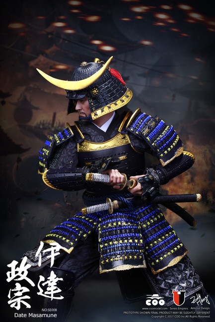 [CM-SE008] COO Model 1:6 Series Of Empires Japan's Warring States DATE MASAMUNE 伊達政宗