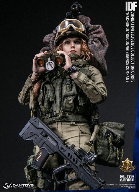 [DAM-78043] DAM Toys IDF Combat Intelligence Collection Corps Nachshol Reconnaissance Company Boxed Figure