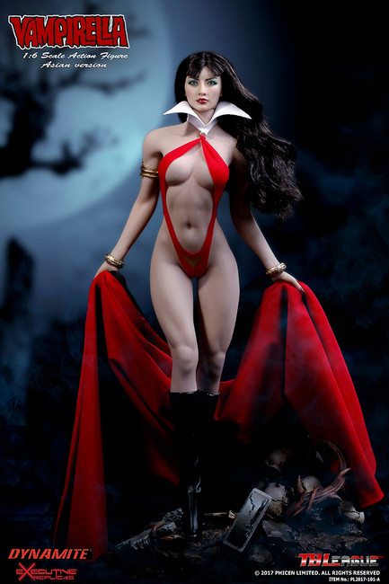 [PL2017-101-A]  1/6  Vampirella Asian Version Boxed Figure by Phicen Limited TB League