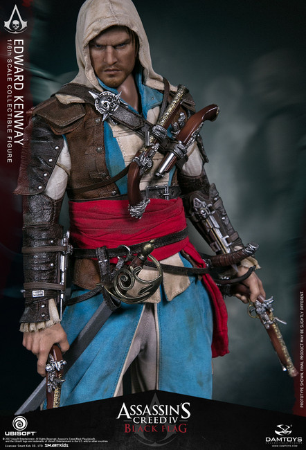 [DMS003] Ubisoft Dam Toys 1/6 Assassin's Creed IV Black Flag Edward Kenway Figure