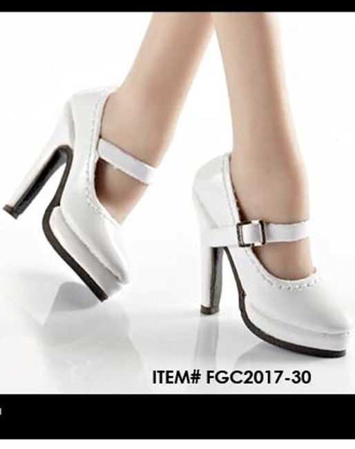 [FGC2017-26-31] 1:6 Flirty Girl's Hollow High Heel Shoes (Oktober Girl) for Female Figures