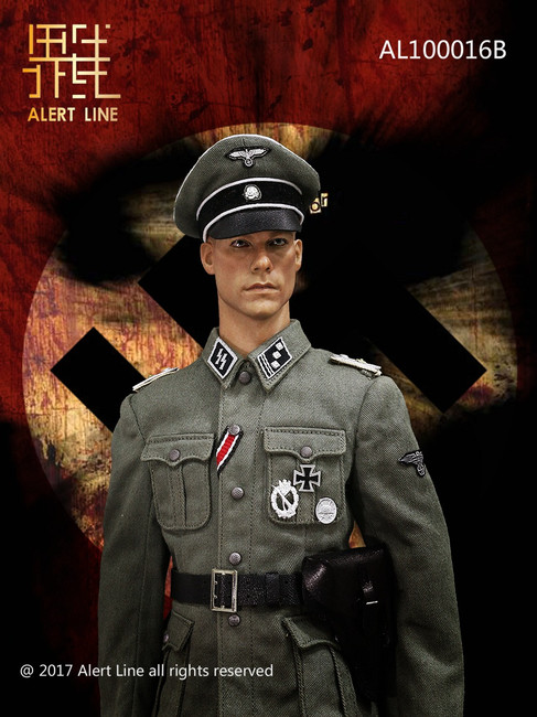 [AL-10016B] Alert Line 1/6 WWII Germany SS Officer Set