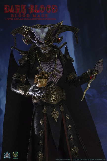 [DB004] DarkCrownToys DarkBlood BLOOD MAGE Collectible 1:6 Scale Figure
