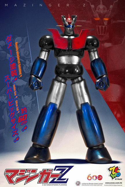 "[ZC-208D] ZCWO Mazinger Z マジンガーZ Jumbo Size 60cm 24"" Damage Box"