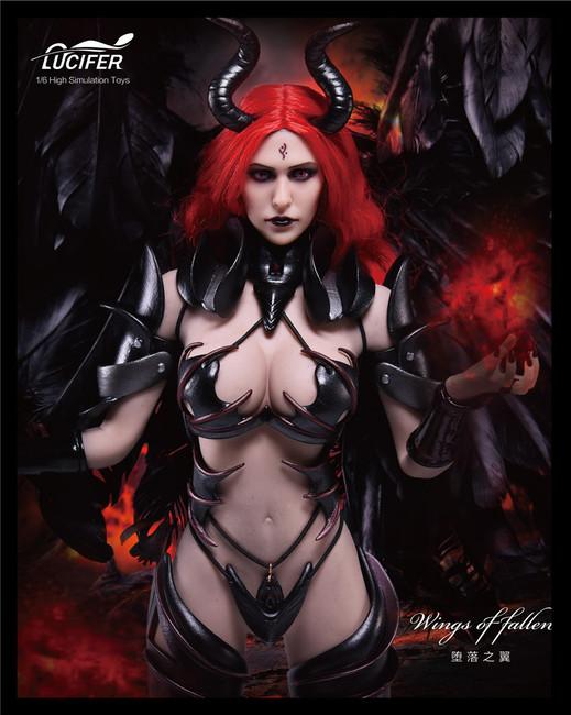 [LXF-1701D] Lucifer Wings of Fallen Deluxe Version Female Figure Accessory