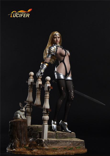 [LXF-1702] Lucifer Valkyria Chronicles Fiona Female Figure Accessory
