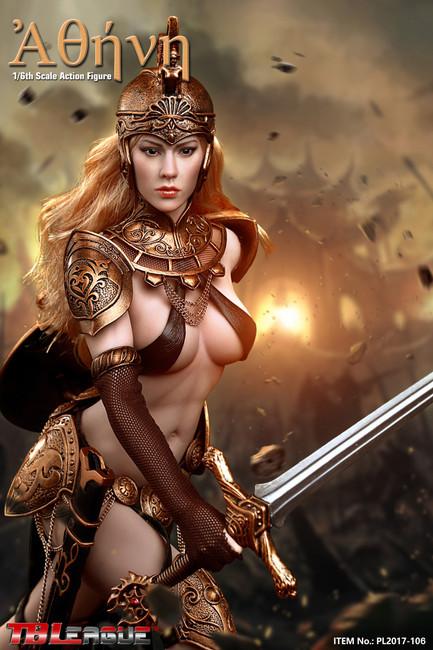 [PL2017-106] TBLeague Phicen Athena Ancient Greek Goddess of Wisdom 1/6 Figure