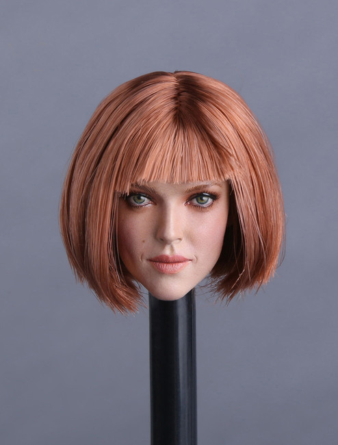 [GAC-009D] GACTOYS Women's Head with Bob Cut Hairstyle