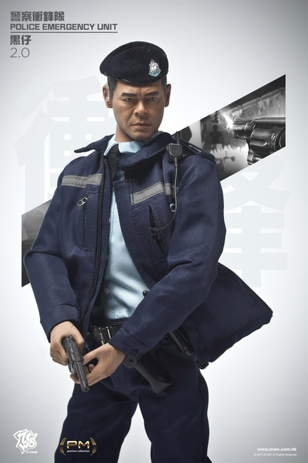 [ZC-257] ZC World 1:6 Hong Kong Police Tactical Unit Black 2.0