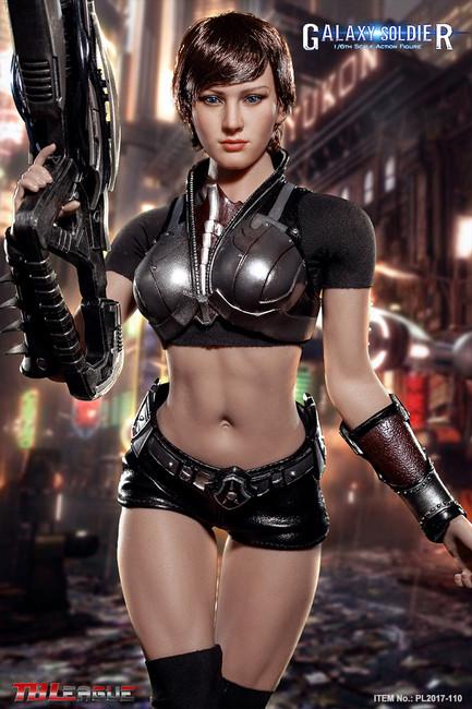 [PL2017-110] TBLeague Phicen Galaxy Soldier 1/6 Female Action Figure