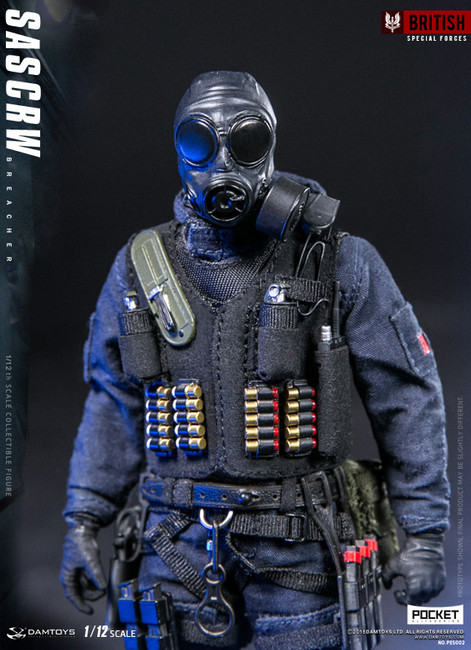 [DAM-PES002] DAM Toys 1/12 Pocket Elite Series SAS CRW Breacher Action Figure