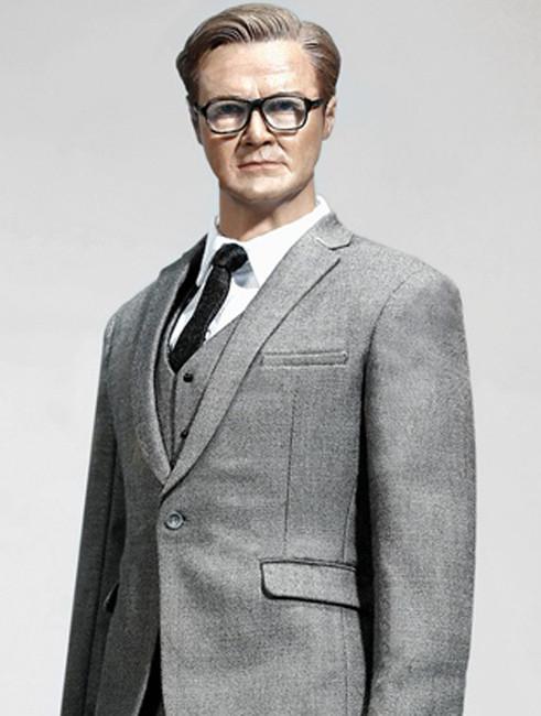 [POP-X26C] POP Toys Standard Western-style Suit in Light Grey