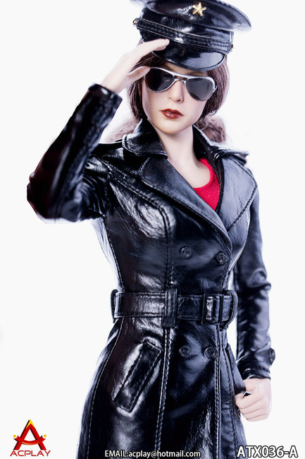 [AP-ATX036A] ACPLAY 1/6 The Queen Style Leather Suit in Black