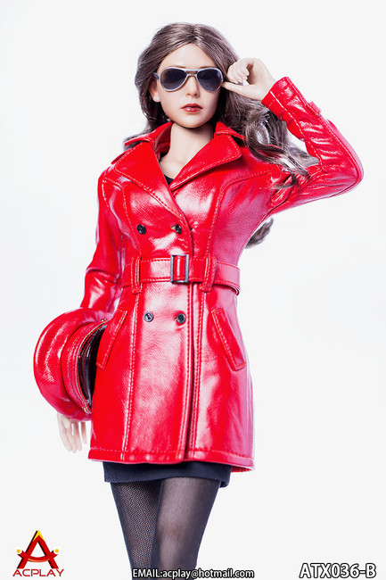 [AP-ATX036B] ACPLAY 1/6 The Queen Style Leather Suit in Red