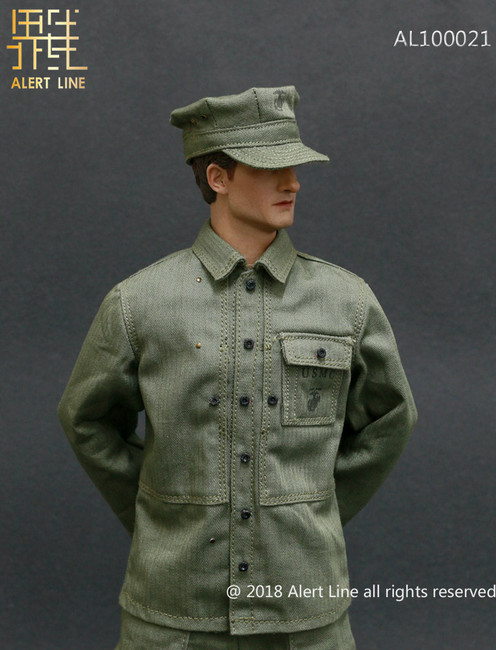 [AL-100021] Alert Line 1:6 WWII US Marine Corps Browning Automatic Rifle BAR Gunner Accessory