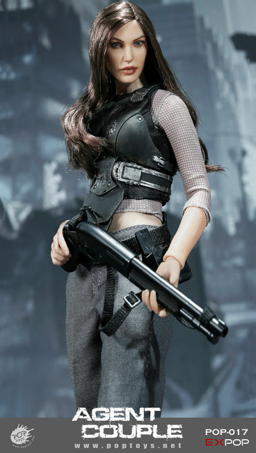 [POP-EX017] POP Toys Mrs. Smith Battle Version 1/6 Action Figure
