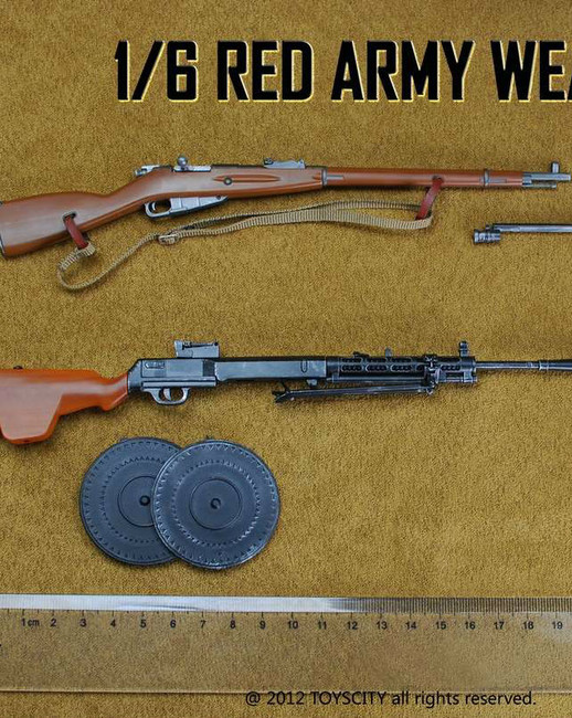 [TC-62013] Soviet Russian USSR Red Army 1:6 Weapons Set