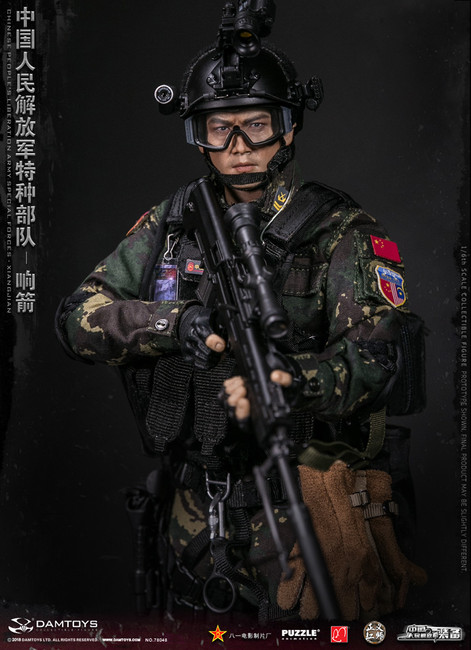 [DAM-78048] DAM Toys Chinese People's Liberation Army Special Forces 1/6 Figure