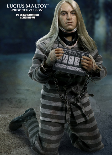 [SA-0040] Star Ace 1/6 Lucius Malfoy Prisoner Version Figure