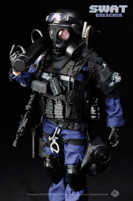 [KH-NX01] KAD Hobby Pattiz 1/6 SWAT Breacher Boxed Figure