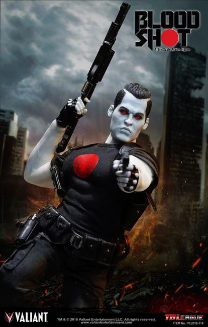 [PL2018-119] TBLeague 1/6 Bloodshot Action Figure by Valiant Comics