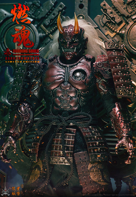 [DB-91802] DarkCrownToys 1:6 Burning Souls Crimson US Version Collectibles Figure