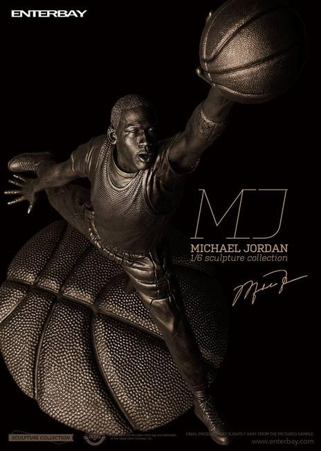 [MIV-1802] Enterbay 1/6 Scale Michael Jordan Sculpture Statue Limited Edition