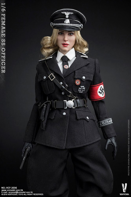 [VCF-2036] Very Cool 1/6 WWII German Female SS Officer Action Figure
