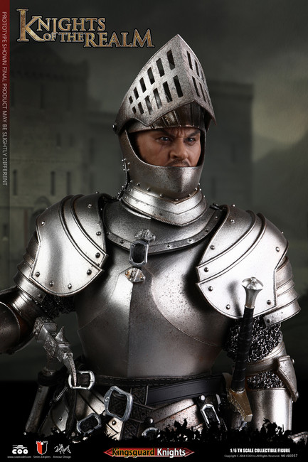 [CM-SE037] Knights of the Realm Kingsguard 1:6 Figure by COO Model