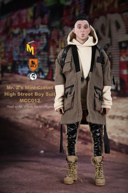 [MCC-012] MCC TOYS High Street Boy Set A Figure Accessory
