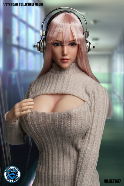 [SUD-SET037] Virtual Beautiful Girl Cosplay Costumes for 1/6 TBLeague S07C Body by Super Duck