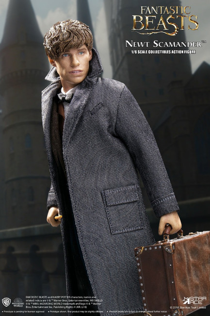 [SA-0047A] Newt Scamander Fantastic Beast with Bonus Coat 1/6 Boxed Figure by Star Ace