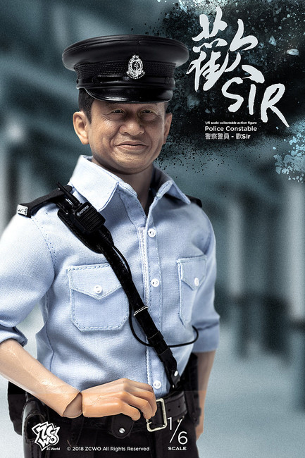 "[ZC-291] 1/6 Hong Kong Police Constable ""Happy Sir"" Figure by ZC World"