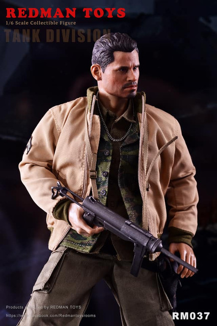 [RMT-037] Fury Tank Division 1:6 Collectible Figure by Redman