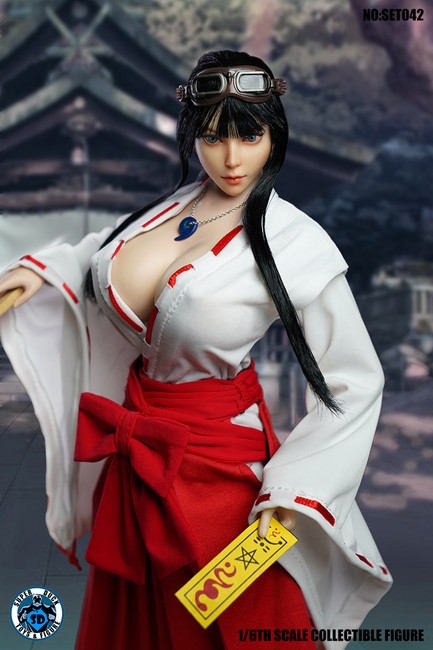 [SUD-C024] 1/6 Japanese Witch Clothing Set by Super Duck