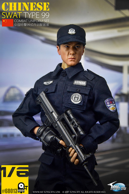 [TC-68013] Chinese SWAT TYPE 99 Combat Uniform Set by Toys City