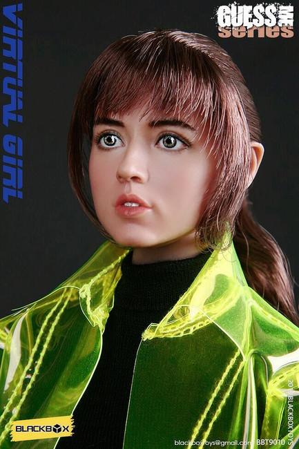 [BB-9010] Guess Me Series Virtual Girl 1/6 by Black Box Toys