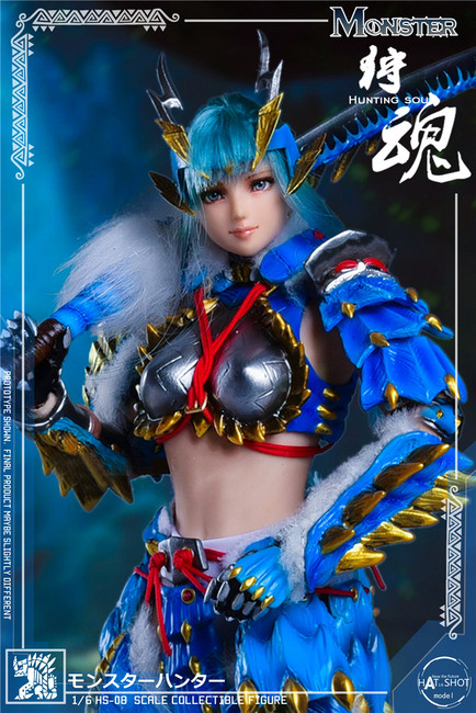 [HS-08D] 1:6 Hunting Soul Doll & Platform Version Figure Accessories by HatShot