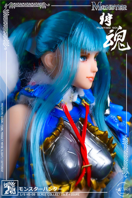 [HS-08] 1:6 Hunting Soul Doll Version Figure Accessories by HatShot