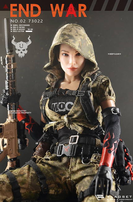 "[FS-73022] 1/6 Doomsday War Series End War Death Squad ""U"" Umir + Dog Suit by FLAGSET"