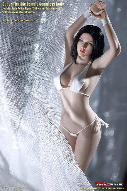 [PL-MB2019-S29B] 1/6 Suntan Buxom Women Female Super-Flexible Seamless Body by TBLeague Phicen