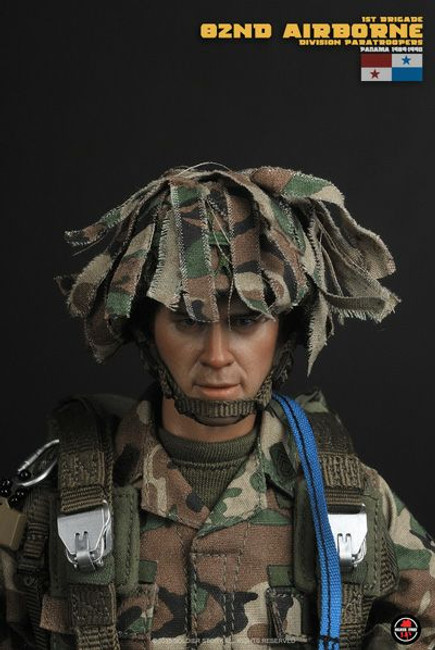 [SS-89] 1/6 82nd Airborne Division Paratroopers, Panama 1989-90 by Soldier Story