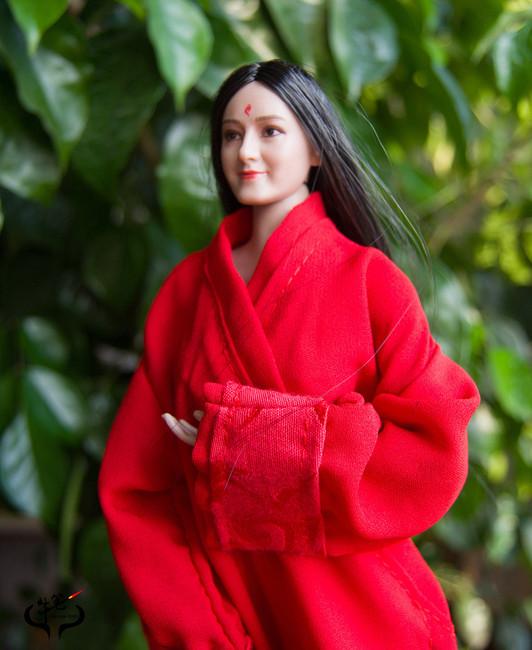 [MIS-H051A] 1/6 Custom Dilraba Actress Long Hair Head